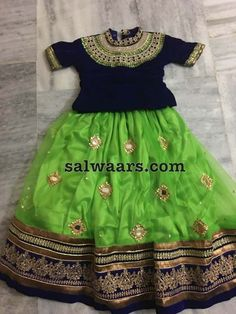 Mirror Lehenga Elbow Blouse