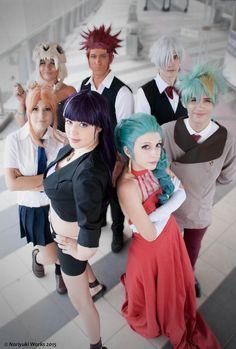 ____ Death Parade. ____ - as Chiyuki - as Decim - as Nona - as Ginti - as Mayu - Ciro as Clovis - Alia as castra Photo by Ahhhh *3* We really made this cosplay group!! I'm so happy çOç &n...