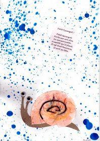 les petites têtes de l'art: Petit escargot, porte sur sur son dos... School Songs, Art School, Toddler Crafts, Crafts For Kids, Snail Art, Bricolage Halloween, School Art Projects, Preschool Art, Art Techniques