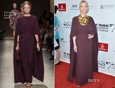 Cate Blanchett In Valentino – 2013 Dubai International Film Festival Opening Night Gala