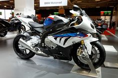 Paris - Salon de la moto 2011 - BMW - RR - 004 - BMW - Wikipedia, the free encyclopedia Ducati, Yamaha, Bmw S1000rr, Bmw Motorcycles, Cbr, Bmw Cars, Bike Life, Sport Bikes, Motocross