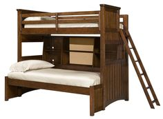 Dawson's Ridge Twin Over Twin Bunkbed with Beside Storage & Full Ext. by Legacy Classic Kids