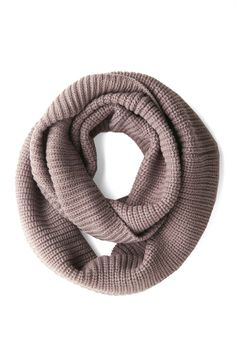 Infinity Plus One Circle Scarf in Taupe, #ModCloth