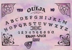 Pastel Goth Ouija Board Art Print by Zombi_meow Wallpaper Angel, Goth Wallpaper, Kawaii Wallpaper, Computer Wallpaper, Ouija, Pastel Goth Art, Pastel Grunge, Creepy Cute, Pink Aesthetic