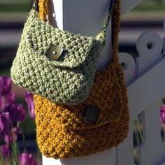 Kate Jackson Knits Desert Satchel Pattern   Knitting and Crochet Patterns