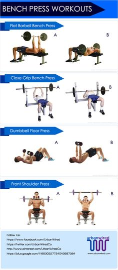 bench press workouts for beginners 2