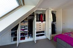 voor onder schuin dak more zolderkamer master bedroom cottage zolder ...