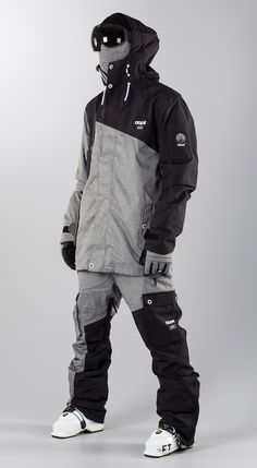 Style Snowboard, Snowboarding Style, Mens Ski Clothes, Mode Outfits, Sport Outfits, Running Outfits, Athletic Outfits, Ski Freestyle, Mode Au Ski