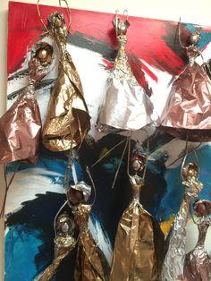 Wire, Drop Earrings, Paper, Jewelry, Jewlery, Jewerly, Schmuck, Drop Earring, Jewels