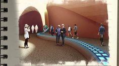 || amazing expo and architecture #fosterandpartners #UAE #2015 || UAE Pavilion Milan Expo 2015