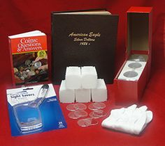 Coin Collecting Kit for American Silver Eagles