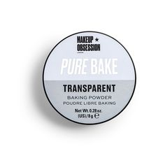 Makeup Obsession Baking Powder - Transparent - Click to view a larger image