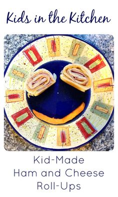 Kids in the Kitchen Kid-Made Ham and Cheese Roll-Ups...what an easy dinner or lunch idea for kids to make on their own!