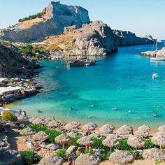 Meanwhile on the beautiful island of Rodos. #rhodes #rodos #greece #greek #greeks #greeklife #greekislands #summer #vacation #heaven #beach