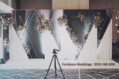 Ideas Wedding Backdrop Design Backgrounds For 2019 Engagement Decorations, Outdoor Wedding Decorations, Backdrop Decorations, Backdrops, Wedding Backdrop Design, Reception Backdrop, Orange Wedding Flowers, Wedding Table Flowers, Photo Booth Backdrop