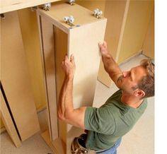 Increase storage space in a garage