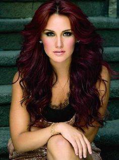 Burgundy Hair On Black Women | Burgundy hair dye; for anyone who is looking for a sensual and intense ...