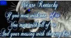 I'm proud to be from Kentucky