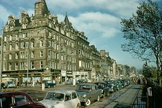 1961-09 Princes Street Looking East, Edinburgh, Scotland (Original)