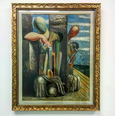 Le trouble du philosophe - Giorgio De Chirico  #museodel900 #Milano #arte #pittura #900 #DeChirico #paint #letroubleduphilosophe #museum #artist #artoftheday #creative #artisti #milanodavedere #ig_lombardia  #vivomilano #citilyfe #instapicture  #draw #drawing #gallery #illustration #instaart #instaartist #masterpiece #paper #pen #pencil by ilariafiore313