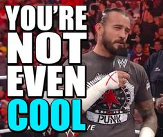 Learned to act drunk from comic books    #wrestling  #wwe  #raw  #cm #punk