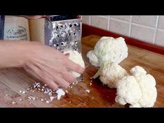 Mit diesen 2 Rezepten werden Sie Blumenkohl lieben! # 421 - YouTube Youtube Cooking, Coconut Flakes, Sprouts, Cauliflower, Cabbage, I Am Awesome, Spices, Easy Meals, Healthy Recipes