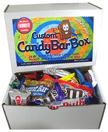 Create a custom candy bar box for someone special with a sweet tooth! Our online candy shop can help you get great ideas for camps, day cares, teams, and other groups!