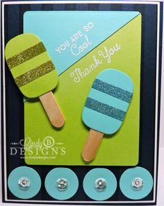 #mftstamps #yourethesweetest #cindybdesigns #summercard #popsicles #glitter #mftblueprints10 #summerfun #summer #thankyoucard #cards #stamping #diecutting #papercrafting #papercrafts #handmade #cardmaking