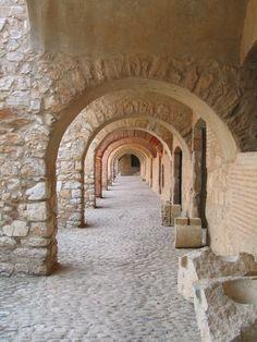 Chàteau de Salses.Forteresse  (chef d'oeuvre espagnole du XVe siècle).Languedoc-Roussillon