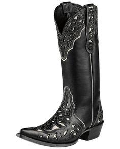 Ariat Women's Presidio Boot - Black/Cream