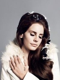 Lana del Rey photographed by Inez & Vinoodh for H&M's Fall 2012 Campaign.