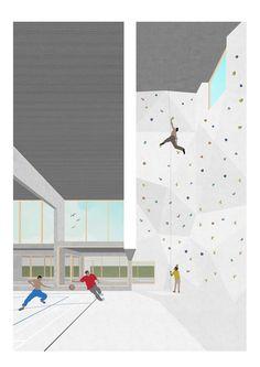 LPP Architectes - Centre sportif Adeps La Marlette