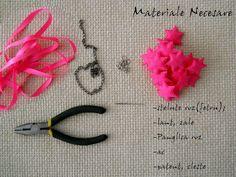 f-f-f-fashion: [DIY] Neon Pink Necklace