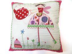 Appliqued pillow~!