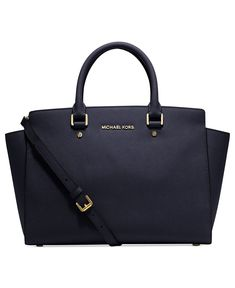 MICHAEL MICHAEL KORS Selma saffiano leather satchel and other apparel, accessories and trends. Browse and shop 8 related looks. Michael Kors Selma, Michael Kors Designer, Michael Kors Clutch, Outlet Michael Kors, Cheap Michael Kors, Handbags Michael Kors, Leather Satchel, Leather Purses, Leather Handbags