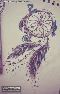 tatuajes atrapasueños plumas de colores - Buscar con Google