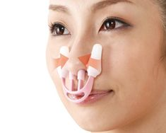 Hana Tsun nose straightener - Do you have a complex around your nose? Then grab the Hana-Tsun nose, Nose Straightener, Crooked Nose, Design Fails, Japanese Beauty, Beauty Industry, Diy Face Mask, Plastic Surgery, Face Care, Hana