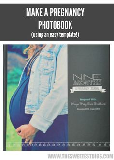 Want to document your pregnancy in a really beautiful way? Make this DIY pregnancy photobook using shutterfly and one of their easy peasy templates! - via the sweetest digs Pregnancy Journal, Pregnancy Tips, Pregnancy Photos, List Of Girls Names, Ultrasound Pictures, Bump Photos, Baby On The Way, Everything Baby, Baby Time