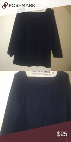 25fb25f51fd66 Navy sweater! Super comfy and cute sweater to dress up or down! Lands  End  Sweaters