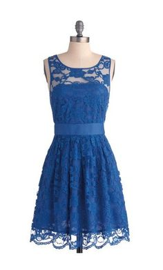 lace bridesmaid dress blue bridesmaid dress royal by sofitdress, $119.00    love this bridesmaid dress... i love lace, and it comes in so many colors!