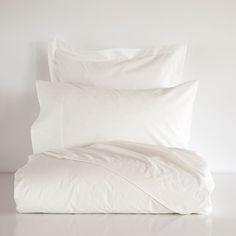 Basic Ecru Percale Bed Linen - Bedroom - Essentials | Zara Home Sweden