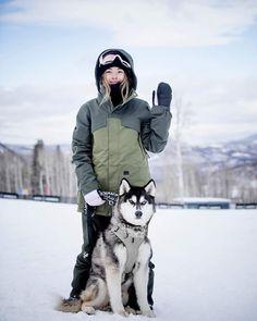 Hailey Langland Snowboarding