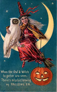 """When the Owl & Witch..."""