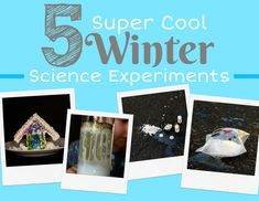 5 Super Cool Winter Science Experiments – Ebook