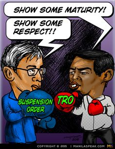 Perhaps we'd be talking about the latest showbiz gossip. Sometimes politicians are their own reality show - specially when they commit mistakes and don't own up to it. Here are two illustrations I've done on the latest issues in the news today.    The Mayor of Makati, who happens to be the...  - http://ricaespiritu.com/politics-without-politics-how-will-our-lives-be/