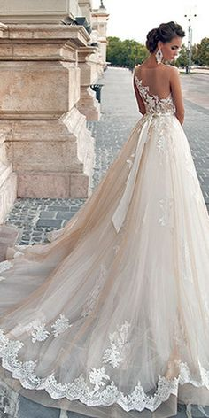 50 Beautiful Lace Wedding Dresses To Die For | Beautiful, Lace and ...