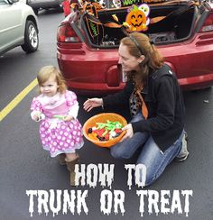 How to Trunk or Treat - I didn't know this before!!  #Halloween #TrunkorTreat