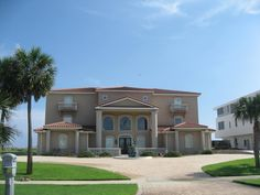 A Gulf Front home on Holiday Isle Destin.