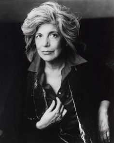 Great photo of Susan Sontag, one of my favorite authors.