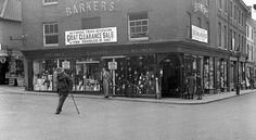 Barkers in North Walsham. Possibly 1930s. #northwalsham #history http://www.northwalshamarchive.co.uk